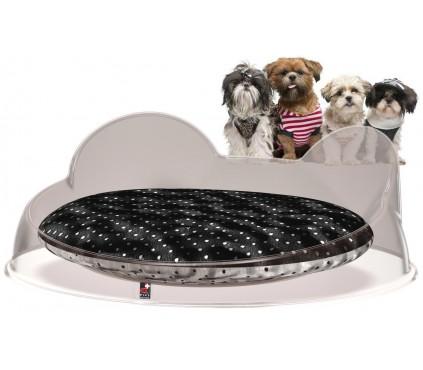 Cucce luxury per cani e gatti con cuscino sfoderabile da for Marsupio per cani di piccola taglia
